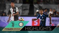 JUVENTUS 1-1 INTER (4-3 pen) | HIGHLIGHTS | 2019 International Champions Cup