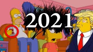 تنبؤات جديدة في مسلسل عائلة سيمبسون سوف تحدث في عام 2021 !!