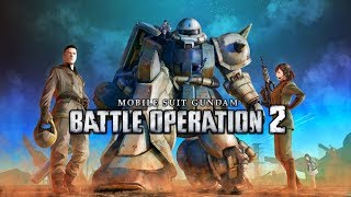 Mobile Suit Gundam: Battle Operation 2 with MS-06F Zaku II (Ring)