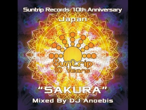 DJ Anoebis - Sakura (Goa Trance Set)