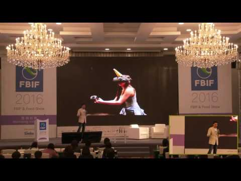 FBIF2016 Alvin Wang Graylin,HTC:VR, Media Reinvented