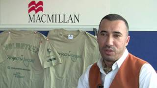 Macmillan working with Projects Abroad