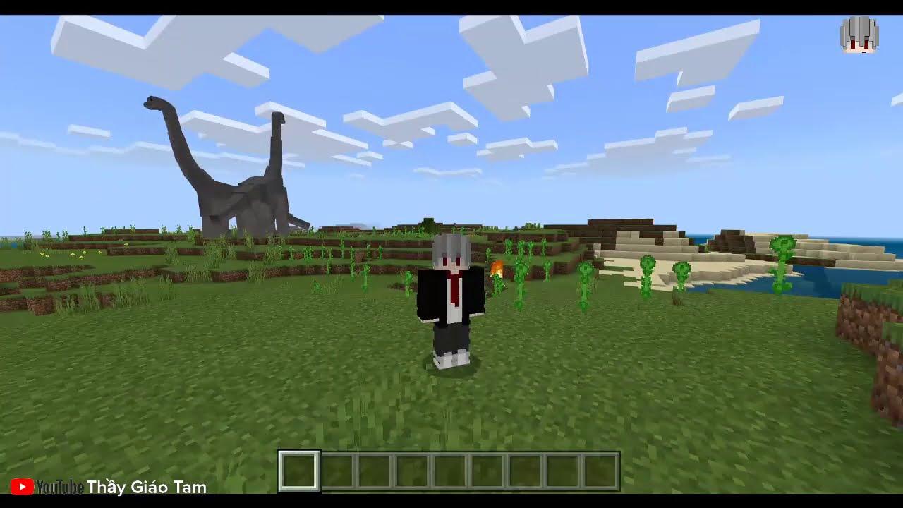 Cách Cài Mod Súng Và Mod ARKCRAFT Minecraft PE Giống PC 100%