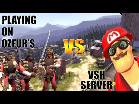 TF2: Just another day on Ozfur's VSH servers