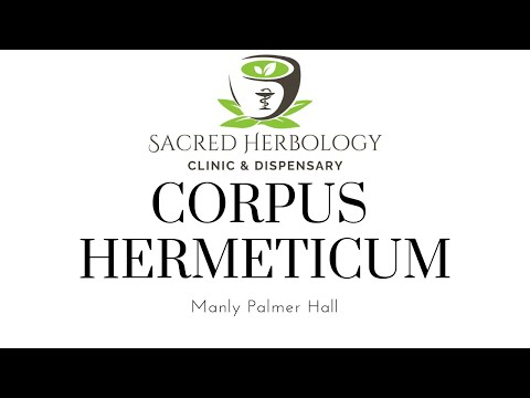 Corpus Hermeticum explained by Manly P. Hall