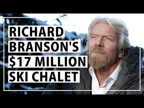 Richard Branson's $17,000,000 Ski Lodge in Switzerland