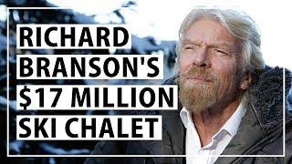 Richard Branson's Ski Chalet in Switzerland