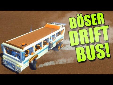 BÖSER DRIFT-BUS! - Scrap Mechanic #03 | Ranzratte1337