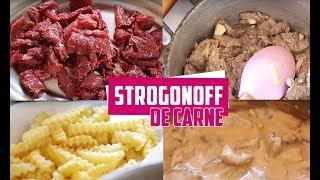 STROGONOFF DE CARNE SIMPLES