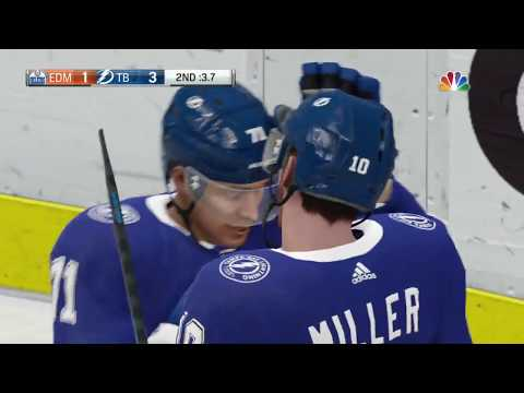 NHL 19 - Edmonton Oilers Vs Tampa Bay Lightning Gameplay - NHL Season Match Nov 6, 2018