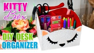 DIY ORGANIZER | DIY Home Decor & Organization Desk [from the Carton]