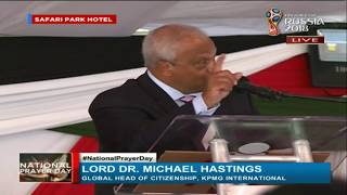 Lord Michael Hastings' message at the National Prayer Day breakfast
