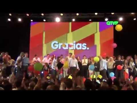 El baile de Mauricio Macri y los festejos en el Bunker del PRO en Costa Salguero Ciudad Magica HD