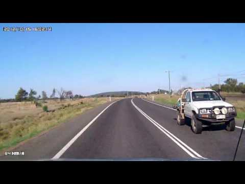 Video 443 - Capricorn Highway - Blackwater to Dingo