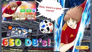 Captain Tsubasa Dream Team! Michael - Raphael Super Dreamfest Transfer! 170 PULLS!