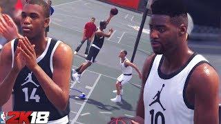 NBA 2K18 MyCareer: Diming Like A Point Guard - Teaming Up With Kspade NBA 2K18 Prelude Gameplay
