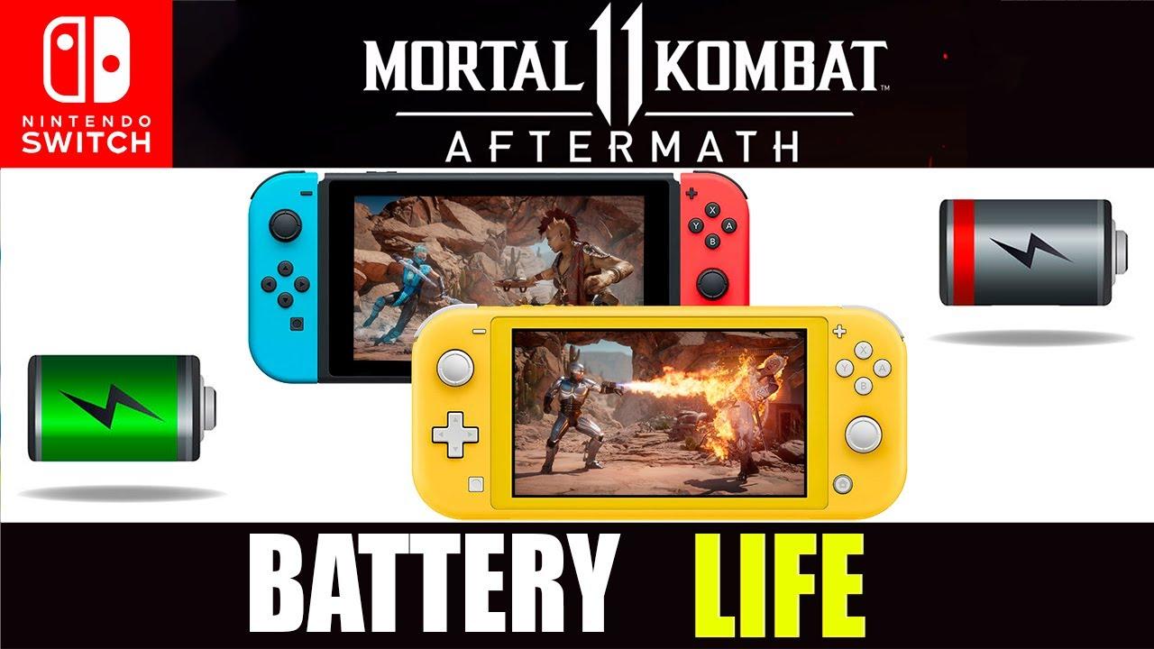 mortal kombat 11 aftermath kollection switch