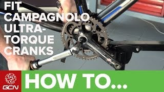 How To Fit A Campagnolo Ultra Torque Chainset And Bottom Bracket - GCN's Maintenance Mondays