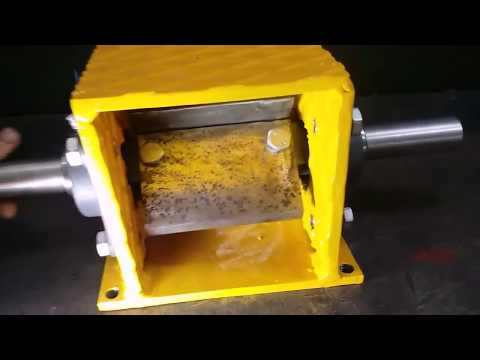 Wood Chipper Mechanism - Homemade