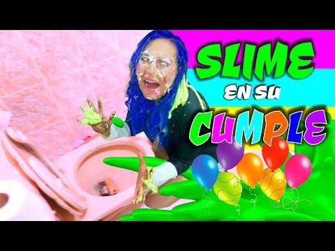 EL CUMPLEAÑOS DE SONNY!! La peor fiesta SLIME de su vida!! | Palomitas Flow