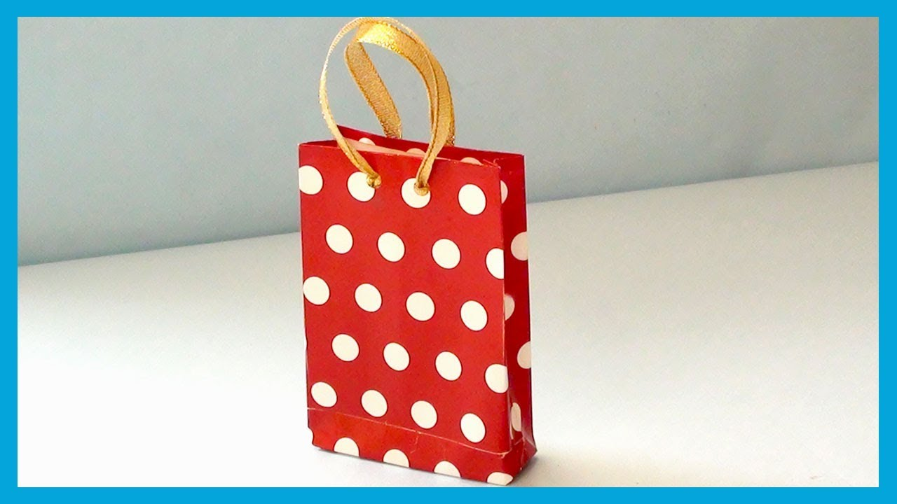 Diy Crafts Birthday Party Return Gift Bags Valentine Day Gift Bag Idea