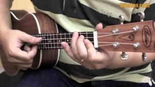 Học đàn Ukulele Bài 7 - Điệu Disco - đệm hát Và Tôi Cũng Yêu Em