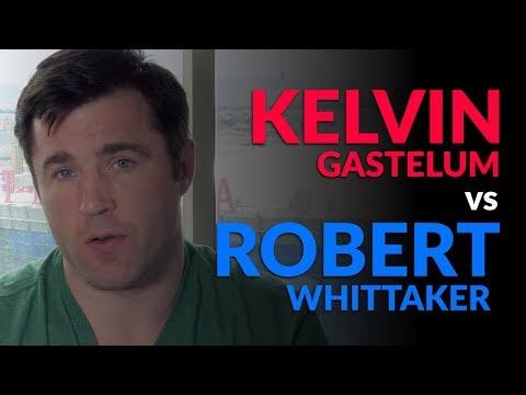 TUF 28: Robert Whittaker vs Kelvin Gastelum
