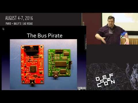 DEF CON 24 - Hardware Hacking Village - Matt DuHarte - Basic