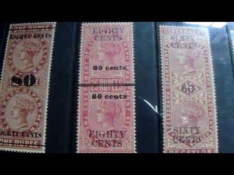 Ceylon telegraphs