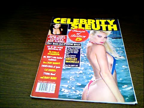 Terry Farrell Celebrity Sleuth May 1994