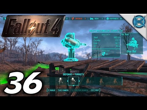 """Fallout 4 -Ep. 36- """"Building Up More Settlements"""" -Gameplay / Let's Play- (S1)"""