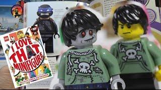 LEGO MINIFIGURE BOOK review / Обзор ЛЕГО энциклопедии по лучшим фигуркам