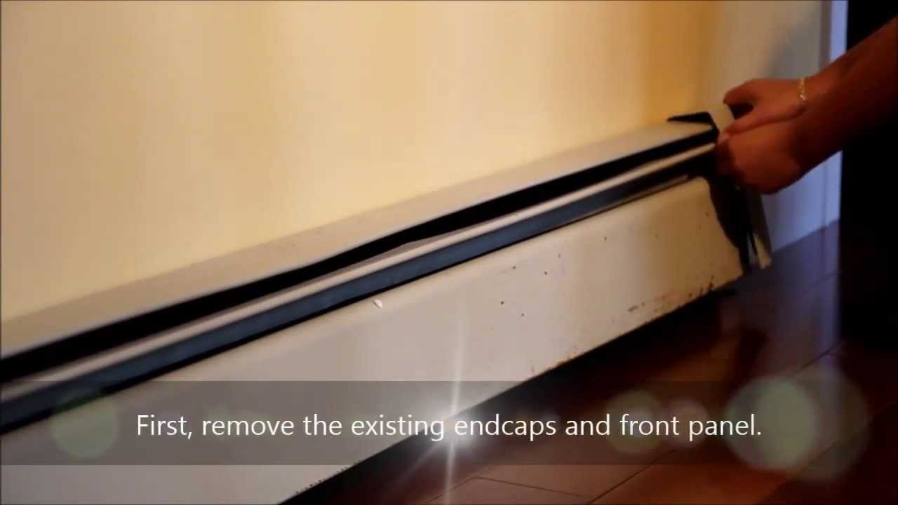 Baseboarders 174 The Easy Slip On Baseboard Heater Cover