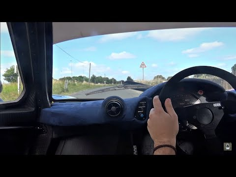 MAD Ride in Race-Winning McLaren F1 GTR!!