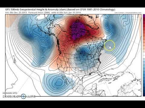 Santa Brings Winter Storm Threat For Northeast 12/25/2015