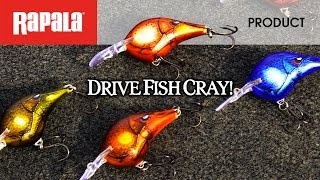 Rapala® Retreating Craw Color Patterns