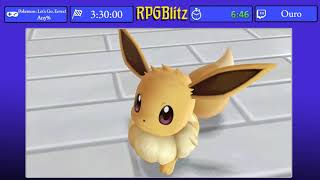 Pokemon: Let's Go, Eevee! Any% by Ouro - RPGBlitz 2019
