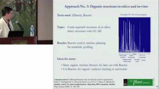 Cheminformatics approaches for metabolomics research - Tobias Kind (UC Davis Genome Center)