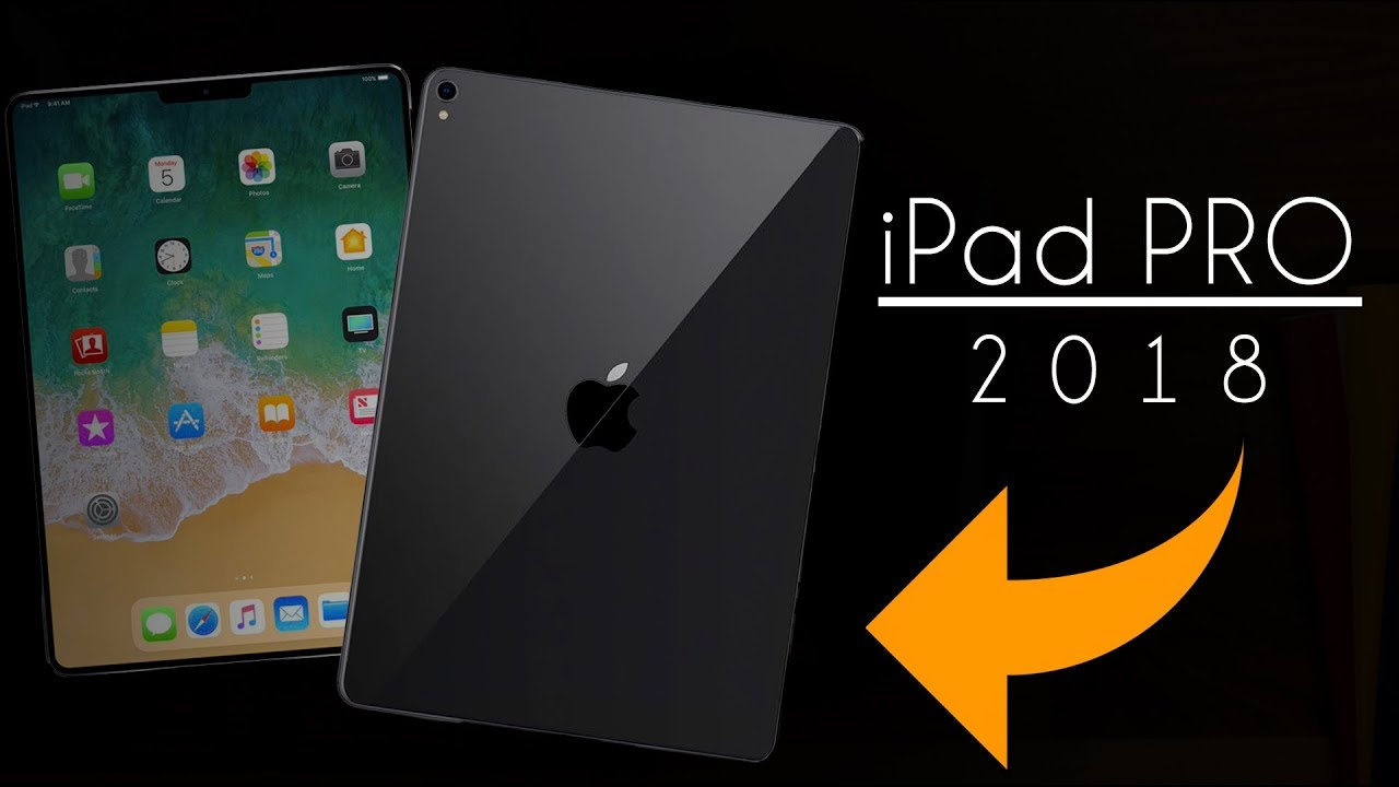 apple ipad pro 2018 leaks e rumors confermati youtube. Black Bedroom Furniture Sets. Home Design Ideas