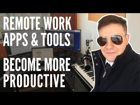 Remote Work Tools - What Do I Use To Work From Home