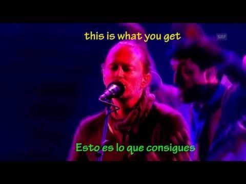 Radiohead-karma Police-subtitulado en ingles y español