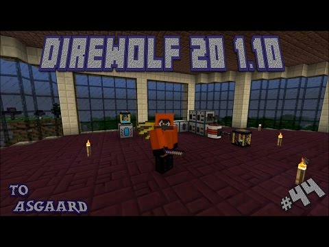 Direwolf 20 1.10 Let's Play Ep. 44: Compression Dynamo Power