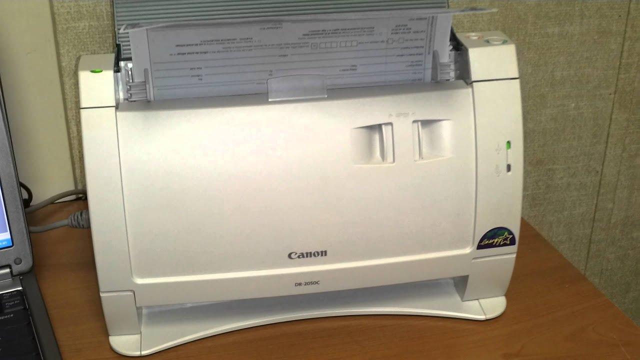CANON DR-2050C SCANNER WINDOWS DRIVER