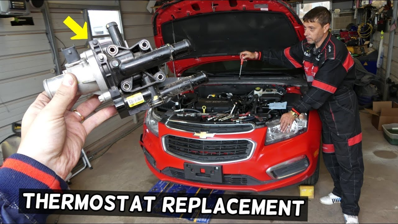 Engine Coolant Thermostat Housing For Chevrolet Cruze 1.4L 2011 2012 2013 2014