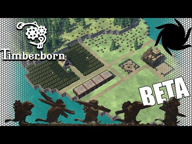 Timberborn Beta - Dam & Blast - From the Brink of Extinction