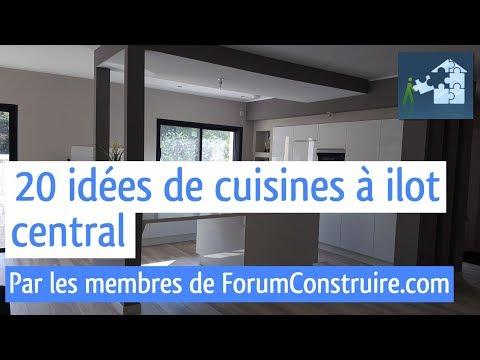 20 ides de cuisines ilot central forumconstruirecom - Forum Construire Sa Maison Soi Meme