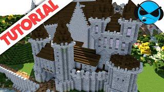 minecraft castle medieval tutorial build