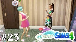 Кусты роз и свой мольберт - My Little Sims (Город) - #23