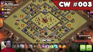 Clash of Clans | CW #003 | Rh 9 und Rh 10 | [Deutsch]