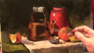 Натюрморт с чайником. Александр Южаков
